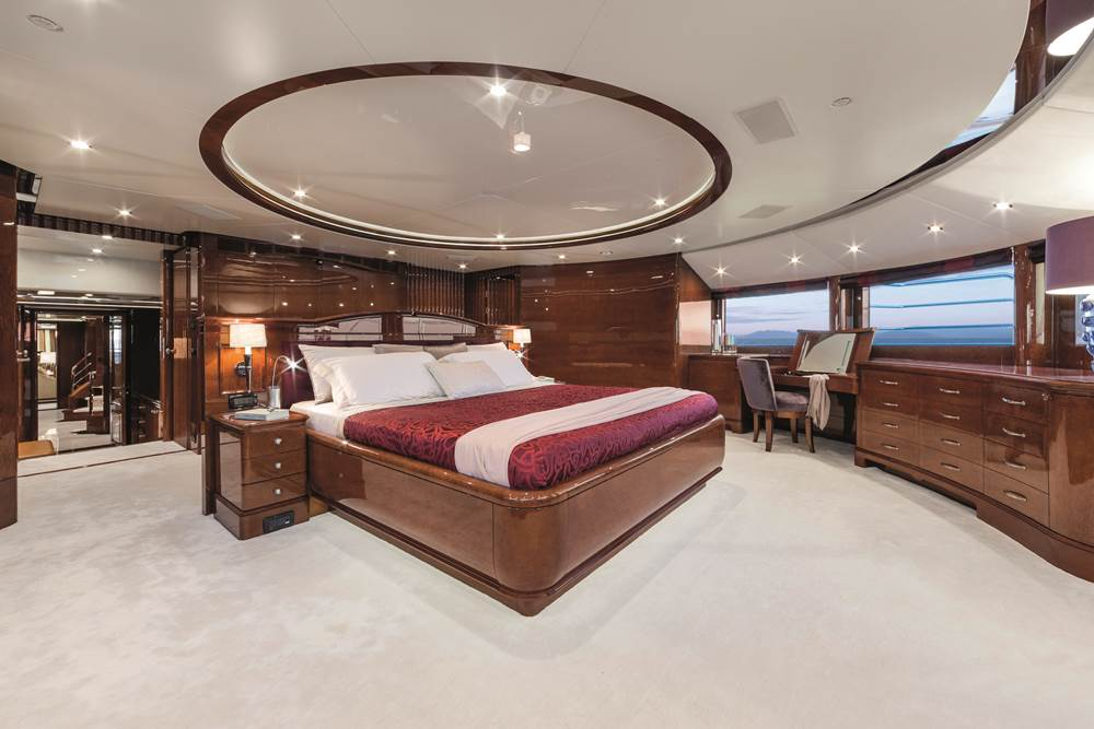Luxury charter yacht Checkmate